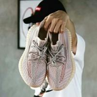 Sepatu Adidas Yeezy Boost 350 V2 Synth Pink Women / sneakers premium
