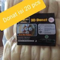 Donat Kentang 3D isi 20 pcs. Donat enak. Donat Murah. Donat kentang