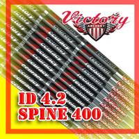 Shaft Victory VAP V3 Spine 400 ID 4.2 Pure Carbon Arrow Anak Panah