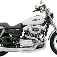 BUANG RR2-1UP86-03XL BASSANI Harley Davidson XL1200C SPORTSTER CUSTOM
