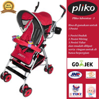 Pliko Kereta Bayi Murah/ Stroller Baby Murah Adventure 2
