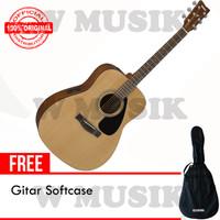 Yamaha Gitar Akustik Elektrik FX 310 / FX310 - Natural + Softcase