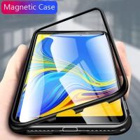 Samsung Galaxy A9 A7 2018 J4 J6 J8 A6 A8 Plus Magnetic Adsorption Case