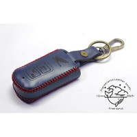 Case Remot smart key Motor Honda Vario 150 model tombol tertutup|merah - Biru