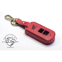 Case Remot smart key Motor Honda Vario 150 model tombol terbuka|MERAH - Merah