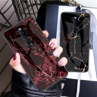 Marble Glass Case OPPO F11 PRO OPPOF11 PRO F11PRO Back Cover Casing
