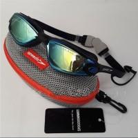 Kacamata Renang Dewasa Anak Anti Fog & UV SPEEDO 866 Black
