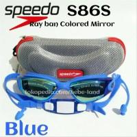 STOK TERAKHIR Kacamata Renang Speedo S 86S Goggle Swimming Anti Fog d