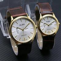 jam tangan ALBA Couple Waterresist