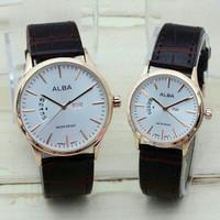 jam tangan ALBA Couple Water Resist