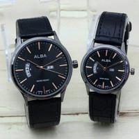 jam tangan ALBA Couple Water Resistt