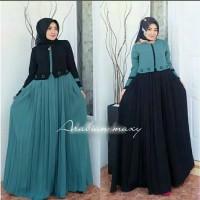 Busana Muslim Wanita Maxi Dress Arabian Gamis Terbaru Termurah