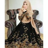 Gamis Marion Jumbo Busui Maxi Dress Syari Muslimah Big Size Terkini