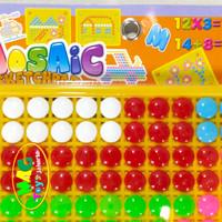 Mainan mozaic bead edukatif