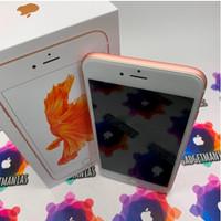iphone 6s 128gb rosegold second Mulus Fullset