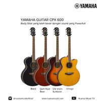 Yamaha Gitar Akustik Elektrik CPX 600 BL