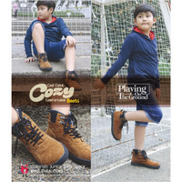 LSI902,Sepatu Boots Anak Laki-Laki/Sneaker/Casual Anak Cowok