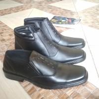 sepatu pdh TNI kulit asli