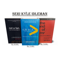 Paket Buku Kyle Idleman ( Not A Fan, Grace Is Greater, The End Of Me )