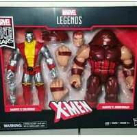 COLOSSUS JUGGERNAUT MARVEL LEGENDS 80TH ANNIVERSARY
