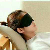 Masker Penutup Mata Tidur / Travel Sleep Eye Mask Pad Busa Bobo Cantik