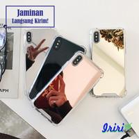 Anti Crack Case Casing Hp Mirror Kaca Iphone 6 6S 7 8 X XS XR XS MAX