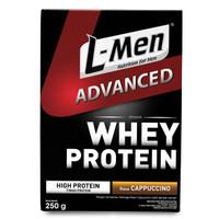 L-Men Advanced Cappucino Susu Tinggi Protein Whey BCAA Lmen Advance