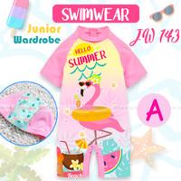 baju renang anak TEEN JW 143 - baju diving swimsuit anak besar 8-13T