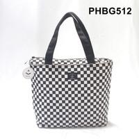 tote bag kanvas - tas cewek hand bag wanita checker board - PHBG512