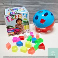 PUZZLE BALL   BOLA PINTAR Mainan Edukasi Blocks Puzzle Ball