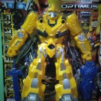 Mainan Action Figur Robot Transformers bumbelbee