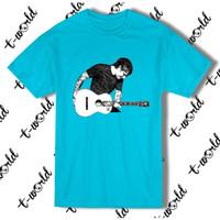 Kaos Ed Sheeran with Guitar Sketch