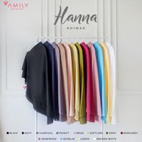 Khimar Hanna Standar by Amily - Khimar Soft Georgette Polos Murah