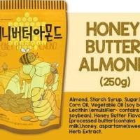 HONEY BUTTER ALMOND TOM'S FARM 250 GRAM (PRODUCT OF KOREA) MURAH