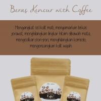 Masker dan Lulur Beras Kencur with Coffee