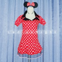 Minnie Mouse Costume Cosplay Lingerie