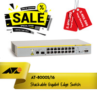 Allied Telesis AT-8000S/16 16 Port 10/100,1G/1SFP Managed Switch