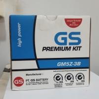 Aki Motor GS Astra GM5Z-3B Kit Aki Basah (Asli Astra) Bergaransi