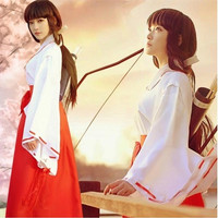 L-1430 - Lingerie Kimono Japanese Priestess Cosplay