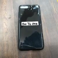 Soft Black metalik full case Huawei Y6 2018