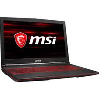 Laptop MSI GL63-8RCS-061 Core I7-8750H Ssd 256GB GTX1050 4Gb Win 10