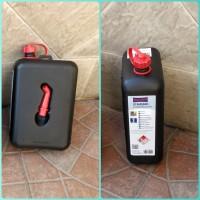 jerry can / jerigen 2 liter utk bensin cadangan