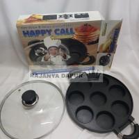 Happycall cetakan kue teflon lubang 8 datar lumpur