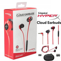HyperX Cloud Earbuds In Ear Gaming Headphones with Mic