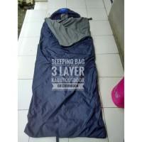 PROMO Sleeping bag 3 lapis Taslan Dacron Polar (sb 3 layer, sleeping