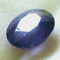 BATU MULIA NATURAL BLUE SAPPHIRE SAFIR 100% ASLI ALAM