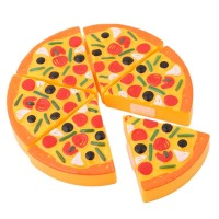 Child Cutting Pizza Toy Kitchen Pretend Play Toy Early Education Gift