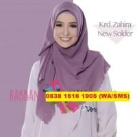 Promo Rabbani Kerudung/Jilbab/Hijab Segi Empat/Segiempat Polos Zahira