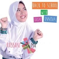 Promo Kerudung Rabbani Great Innova M, Jilbab Bergo Anak Sekolah Grand