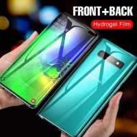 HYDROGEL SAMSUNG S10 PLUS ANTI GORES DEPAN BELAKANG FULL COVER
